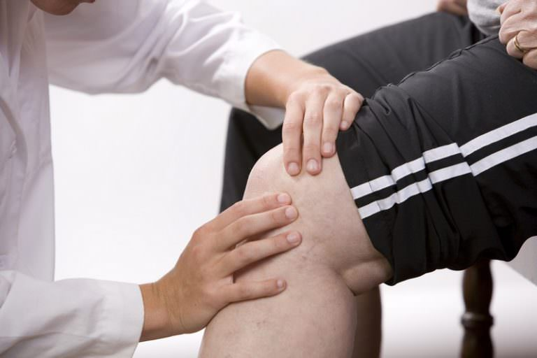 Диагностика мышц колена