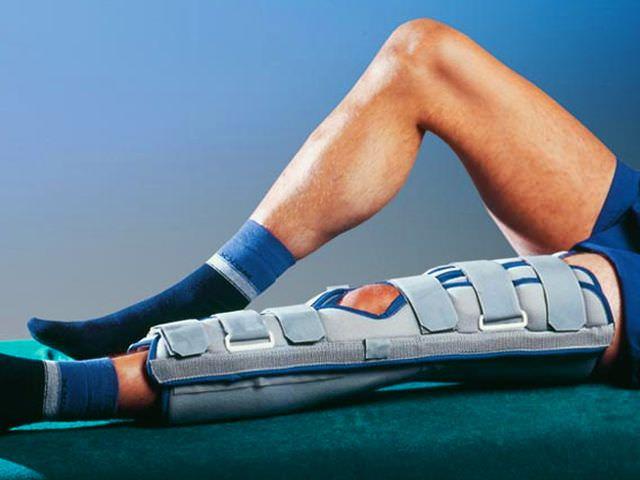 Раздробленные переломы мыщелков коленного сустава