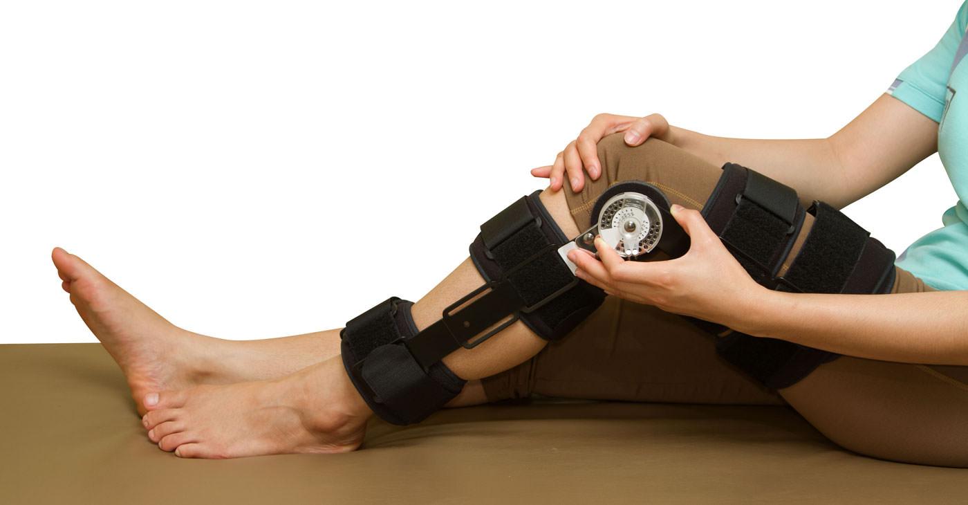 Ортез для обездвиживания колена