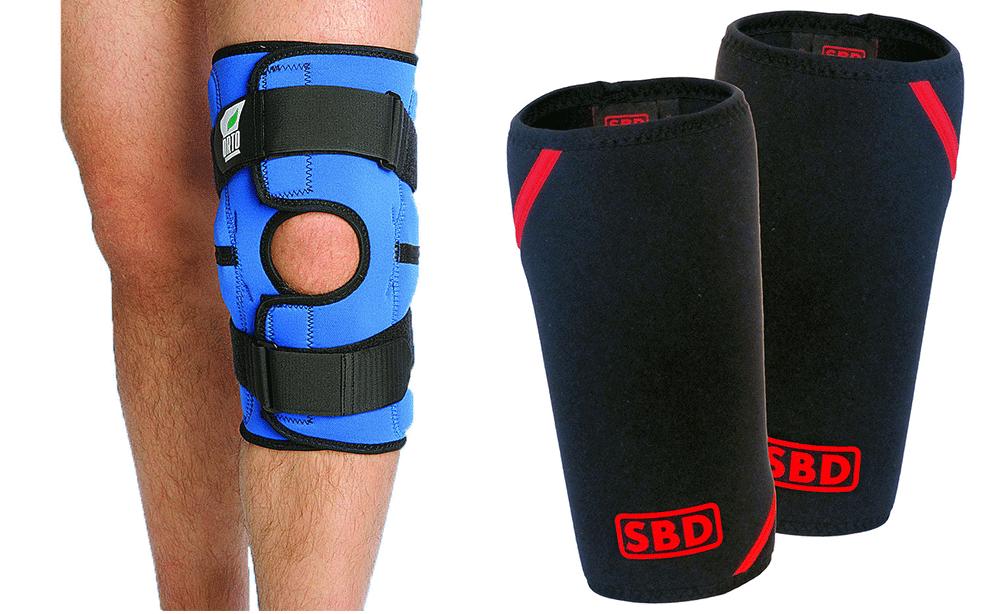 Мягкий наколенник на коленный сустав
