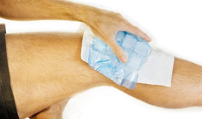 Компресс с димексидом на коленный сустав