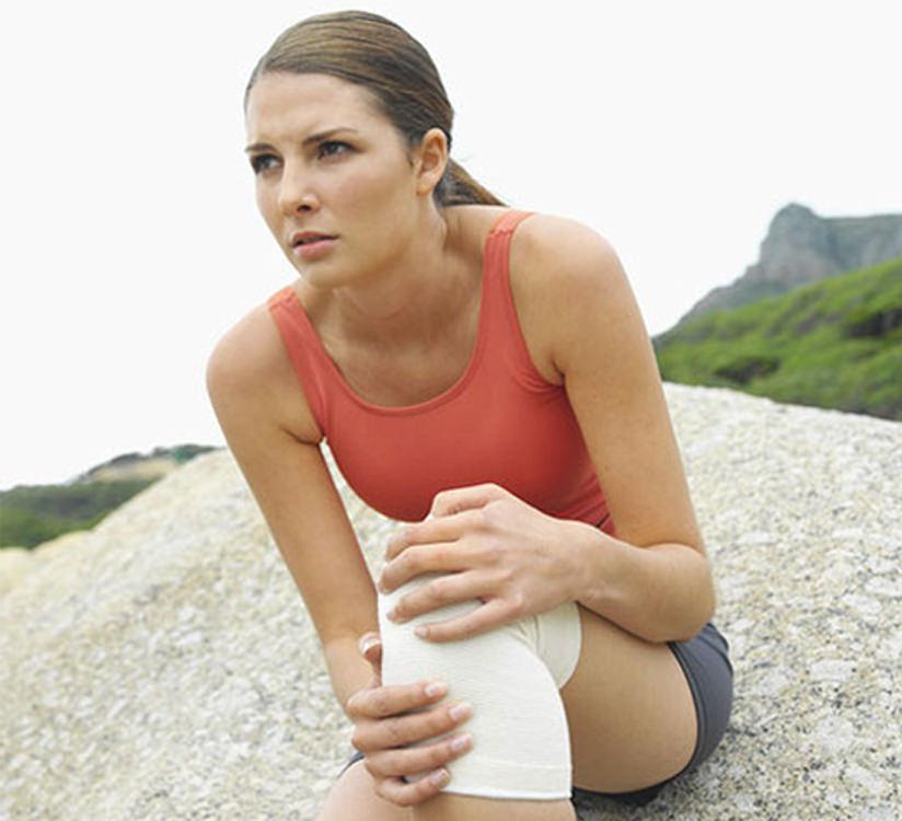 Растяжение связок коленного сустава - лечение в домашних условиях