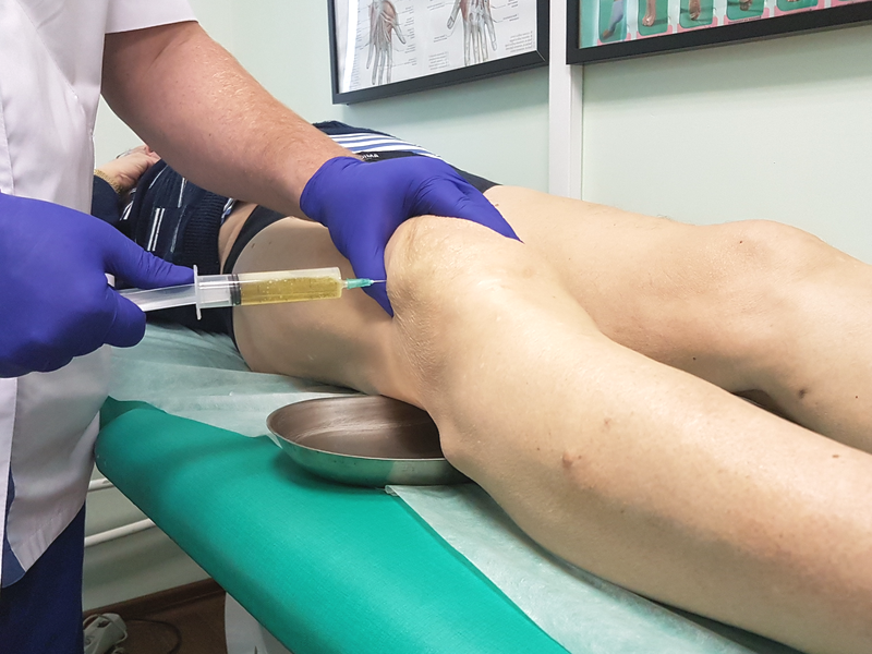 Цена пункция коленного сустава распухло колено и не болит