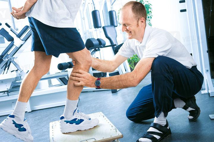 Тренировка колена